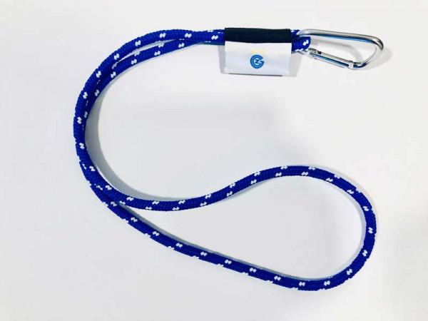 Keyholder Schlüsselanhänger in blau/weiss