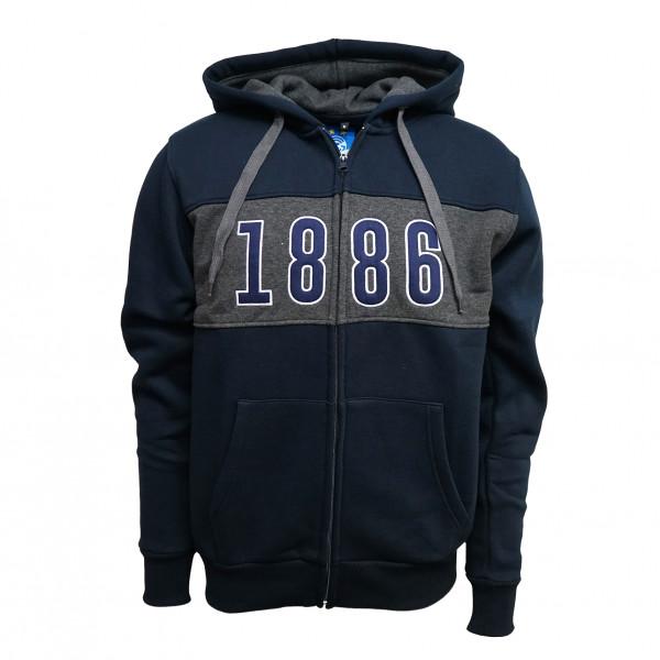 GC Zip-Hoodie 1886