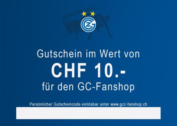 Gutschein CHF 10.--