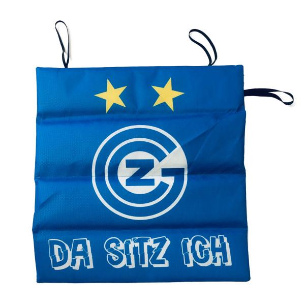 """GC Sitzkissen 'DA SITZ ICH"""""""