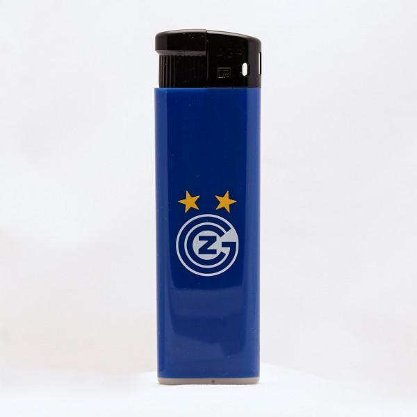 GC Feuerzeug blau