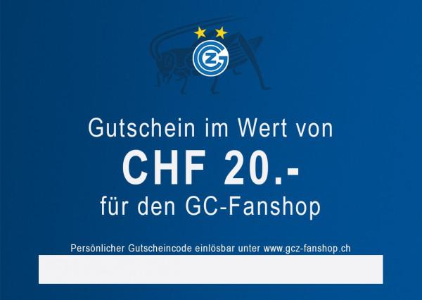 Gutschein CHF 20.--