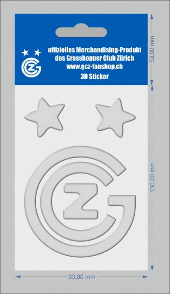 Autokleber, 3D Sticker