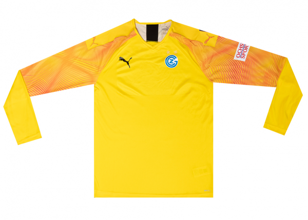 GC Goalie Trikot Saison 2019/20, gelb, Junior