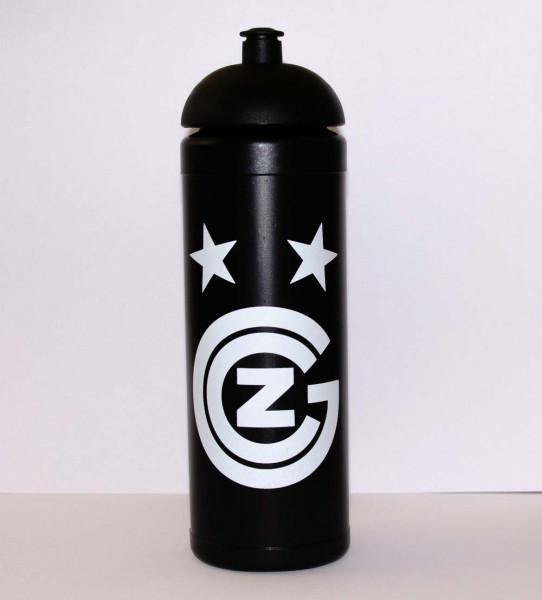GC Trinkflasche in schwarz